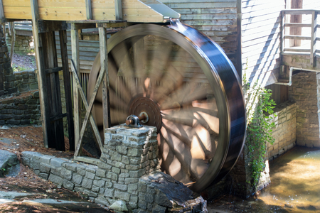 Grist Mill at Stone Mountain Imagens