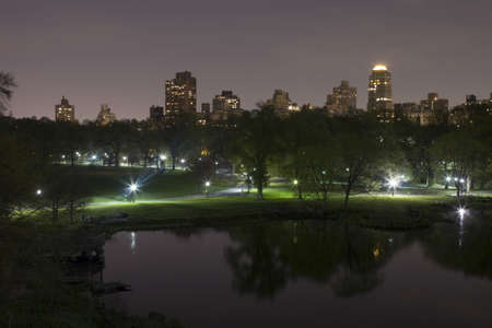 Photo of Central Park in New York City. Stock Photo - 9302312