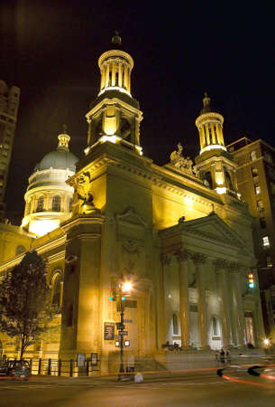 NEW YORK, NY - May 15: Outside view of Saint Jean Baptiste Church.    Located on Lexington Avenue and East 76th street. Taken May 15, 2006 in New York City.  Stock Photo - 9286924
