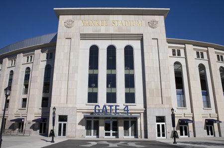 yankees: BRONX, NEW YORK - SEPTEMBER 14: Yankee Stadium sports building.  Taken September 14, 2010 in the Bronx, New York.