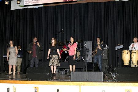 Bronx, New York - April 9: The Pentecostal Christian music group