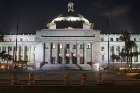 City Hall casa alcaldia in San Juan Puerto Rico.  Editorial