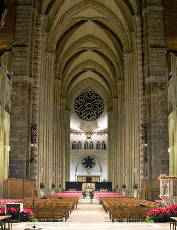 The Cathedral of St. John the Divine.  Amsterdam Avenue New York, NY  (between West 110th Street and 113 Street).