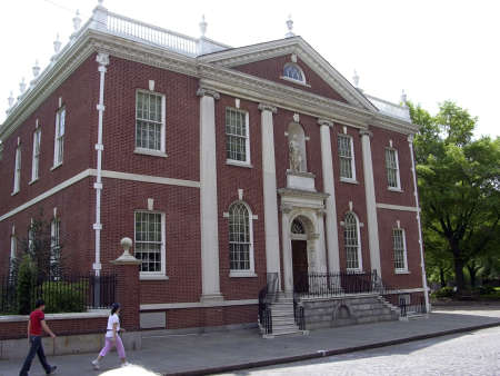 franklin: Benjamin Franklin Library Hall located in Philadelphia Pennsylvania, USA.