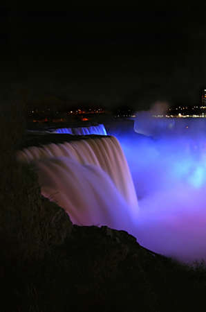 Niagara Falls. Taken in New York.   Stock Photo