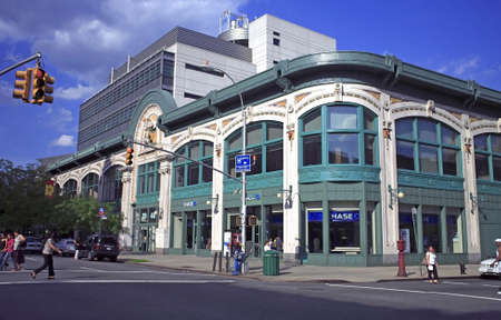 dr: NEW YORK, NY- JUNE 12: Aububon Ballroom Facade, location of the Malcolm X and Dr. Betty Shabazz Memorial Educational Center.