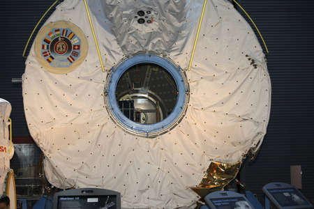 mariner: CHANTILLY, VIRGINIA - AUGUST 15: Mariner 10.  Photographed  inside the National Air and Space Museum