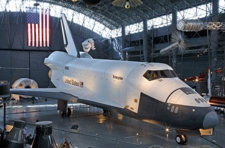 CHANTILLY, VIRGINIA - AUGUST 15: Nasa Space Shuttle Enterprise