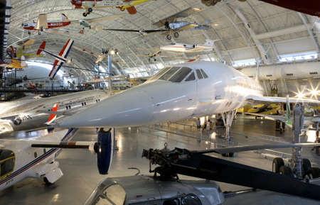 f 15: CHANTILLY, VIRGINIA - AUGUST 15: The Concorde at the National Air and Space Museums Steven F. Udvar-Hazy Center.   shot August 15, 2007 in Chantilly, Virginia.