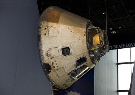 WASHINGTON, DC - JULY 9: Apollo  Command Module . Taken July 9, 2011 in Smithsonian National Air & Space Museum, Washington, DC.