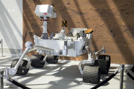 WASHINGTON, DC - JULY 9: Curiosity Mars Science Laboratory. Taken July 9, 2011 in Smithsonian National Air & Space Museum, Washington, DC.   Editorial