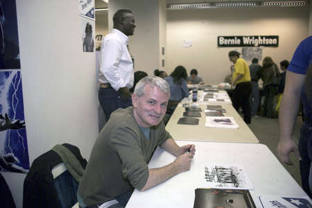 Actor Thomas G Waites at the National Big Apple Comic Book Convention . Taken November 19, 2006 in NYC. Editorial