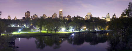 Panoramic photo of Central Park in New York City. Stock Photo - 10444528