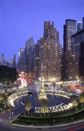 Photo of Columbus Circle located in New York City, USA Redakční
