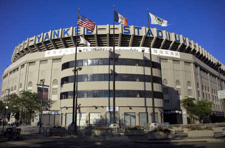 BRONX, NEW YORK - JUNE 9: Old Yankee Stadium photographed just before it was torn down.  Taken June 9, 2006 in the county of the Bronx, NY.