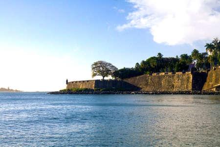 paseo: Paseo del Morro or Path of el Morro in Old San Juan Puerto Rico.