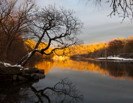 bronx county: Van Cortlandt park in the County of the Bronx, New York. Stock Photo