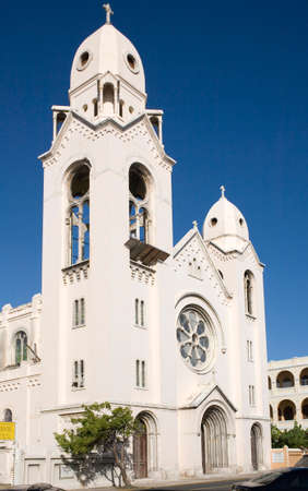 SAN JUAN, PUERTO RICO - Décembre 10: Église de Saint Augustin ou Iglesia San Agustin, la Puerta de Tierra, San Juan. Prise le 10 Décembre 2009, à Puerto Rico. Banque d'images - 35256869