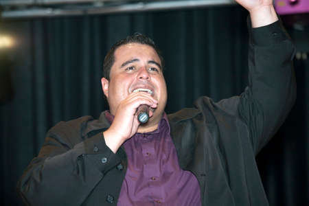 possibilities: BRONX, NEW YORK - MARCH 17: Samuel Hernandez performs during a Christian concert for Realizing Possibilities ministry.  Taken March 17, 2012, in  New York.