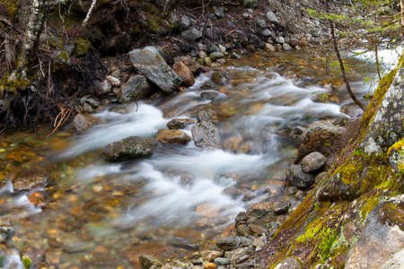 river: River Sream at  Mount Washinton  via Ammonoosuc ravine trail in Coos County, New Hampshire.