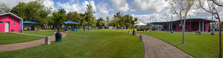 BAYAMON/PUERTO RICO - February 26, 2019: Wide angle view of Central park for kids