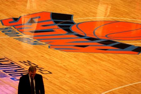 New York City, USA - December 08 2010: Mike DAntoni in NBA match New York Knicks vs Toronto Raptors at Madison Square Garden Editorial