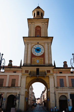 civic: Gualtieri, Italy - the Civic Tower