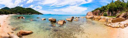 tropical beach in Koh Samui,Thailand photo