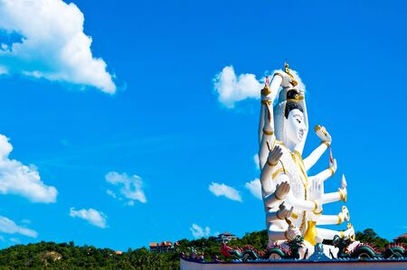 statue of Shiva on Koh Samui island, Thailand Stock Photo