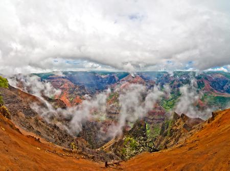 geologic: Waimea Canyon, Kauai Island, Hawaii, USA