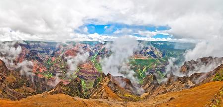 Waimea Canyon, Kauai Island, Hawaii, USA photo
