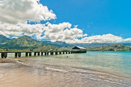 kauai: natural paradise Hanalei Bay, Kauai Island - Hawaii