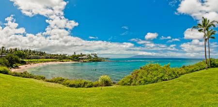 Ocean view in West Maui Kaanapali beach resort area