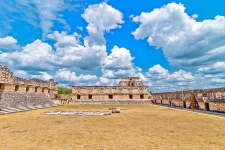 mesoamerica: Uxmal ancient mayan city, Yucatan, Mexico