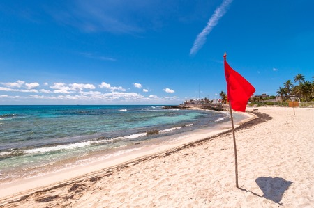 mujeres: tropical sea and beach in Isla Mujeres, Mexico