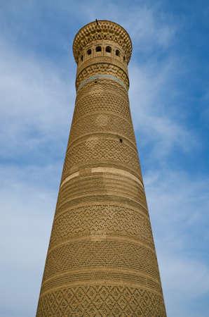 showplace: Kalon Minaret Tower in Bukhara, Republic of Kazakhstan