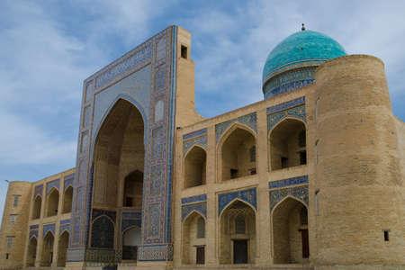 showplace: Miri Arab Khan Madrassah in Bukhara, Republic of Uzbekistan