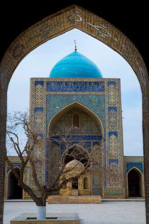 showplace: Poi Kalon Mosque Complex in Bukhara, Republic of Uzbekistan