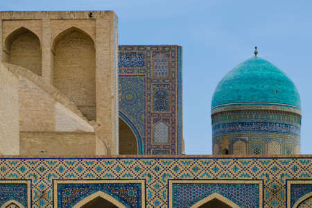poi: Poi Kalon Mosque Complex in Bukhara, Republic of Uzbekistan