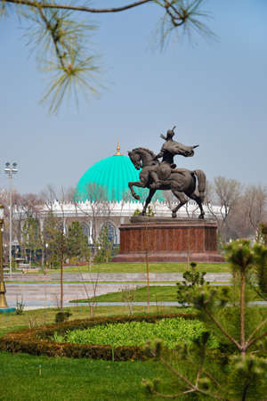 Tamerlane Square in Tashkent, the capital of Republic of Uzbekistan Stock Photo - 16466919