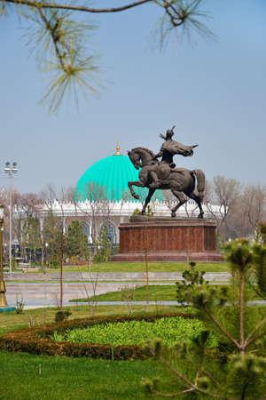 Tamerlane Square in Tashkent, the capital of Republic of Uzbekistan Stock Photo - 16466919