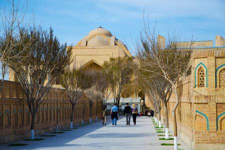 baha: Baha-ud-Din Naqshband Bukhari Ensemble. Bukhara, Uzbekistan Editorial