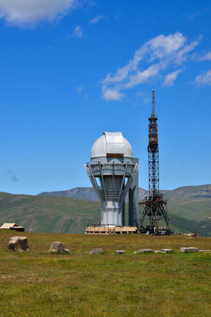 observational: Observatory in high-altitude Asy Plateau. Kazakhstan