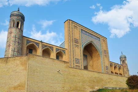showplace: Kukeldash Madrasah in Tashkent. Republic of Uzbekistan