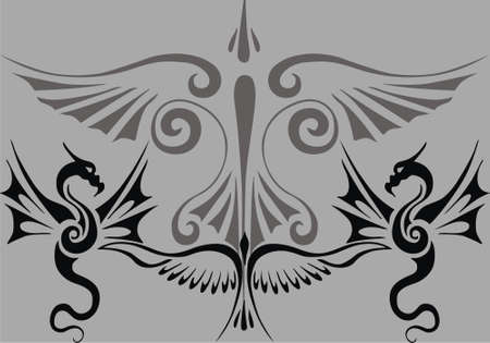 triball tattoo Vector
