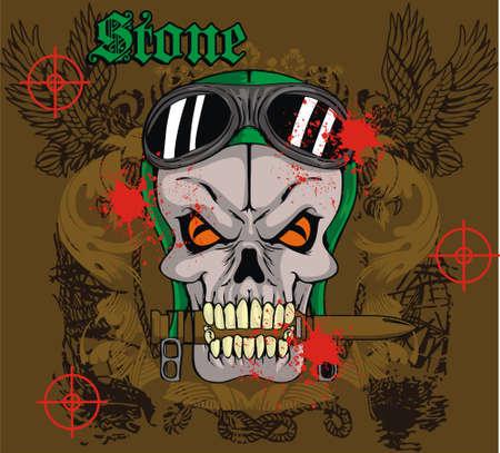 targets: skull war