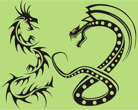 dragon tribal: Dragon tribal isol�