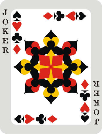 wining: Isolated playing card