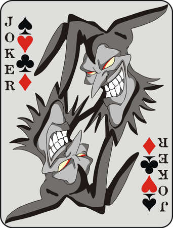 Joker card background