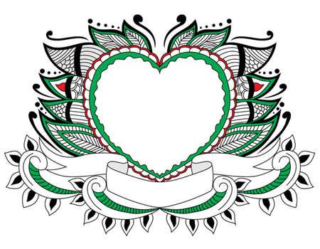 decoration floral love